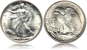 Standing Liberty Silver Dollar