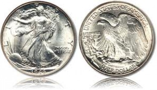 Standing Liberty Silver Dollar