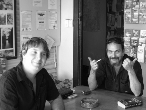"""The """"Cairns Boys - Aaron and Mark - typical honest, hard working Aussie blokes."""