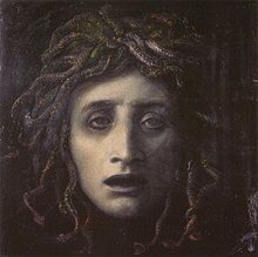Many later artists began to show Medusa in a more kindly light.