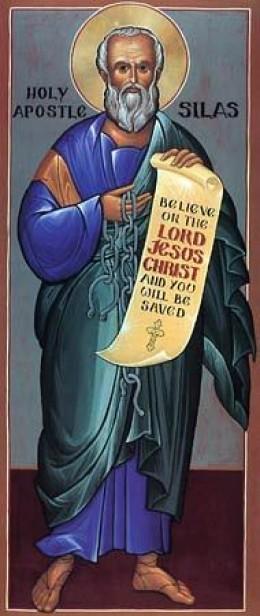 Orthodox Icon of the Apostle Silas