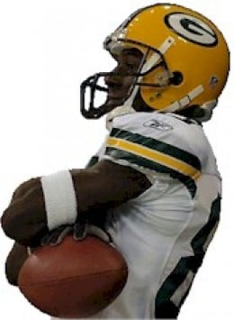 Greg Jennings #85 Green Bay Packers -NFL  Best Wide Receiver 2011