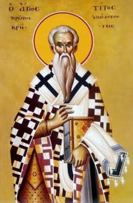 Orthodox Icon of Saint Titus
