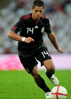 """Javier """"Chicharito"""" Hernandez, Mexican International And Super Sub For Manchester United"""