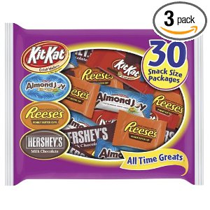 Hershey's All Time Greats Assortment, 16.3-Ounce Bags (Pack of 3)