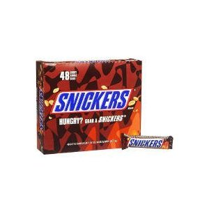 Snickers-Original Chocolate Candy Bar, 48ct