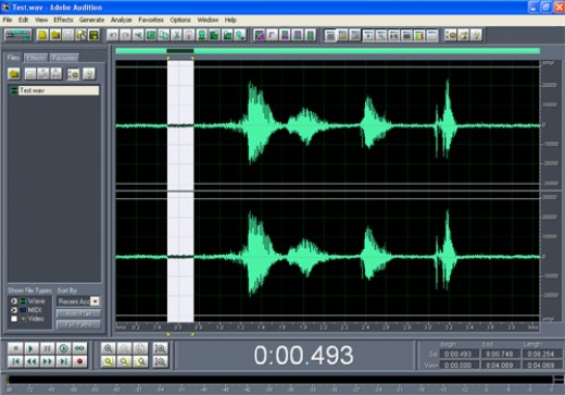 Noise Reduction in Adobe Audition