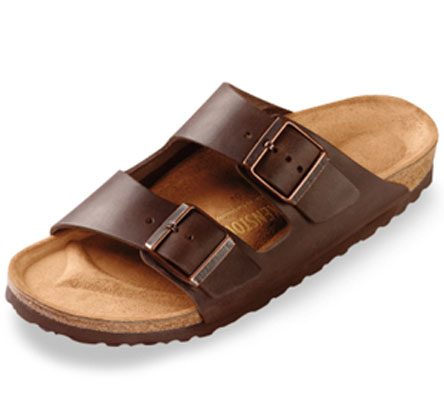 Birkenstock Arizona in Brown