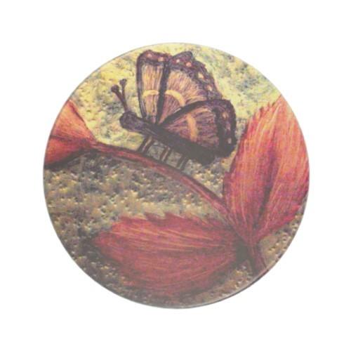 Mums Butterfly Art Drink Coaster