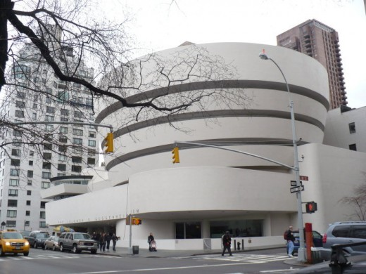 The Guggenheim Museum, Fifth Avenue, Manhattan, NYC