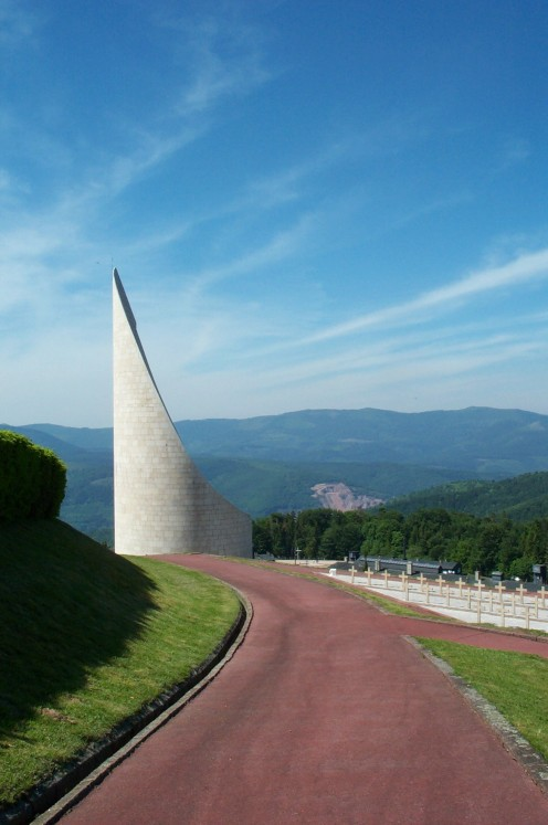 The memorial at Natzweiler-Struthof