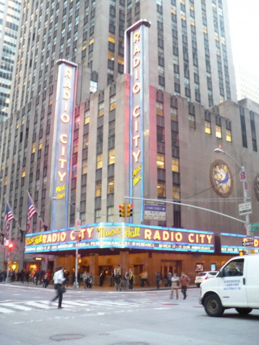Radio City Music Hall, Manhattan, NYC