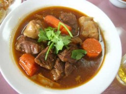 A recipe for beef stew, try my slow cooker beef stew.