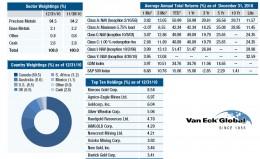 Van Eck Fund holding