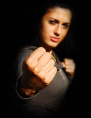 Angry woman by graur codrin