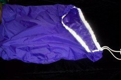 Large drawstring water proof bag for dirty diapers