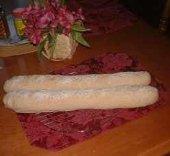 Easy Baked French Loaf