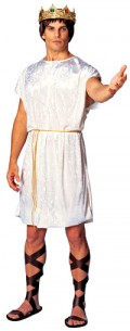 Romans would have thought it hopelessly stupid to bifurcate their garments and restrict leg and cojon movement