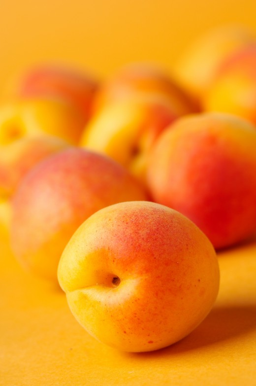 Mmmm...made with peaches!