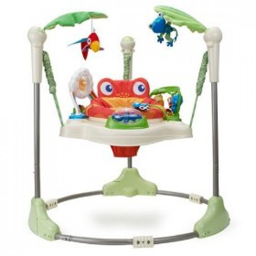 Baby jumper review door jumperoo and more hubpages for Door jumperoo