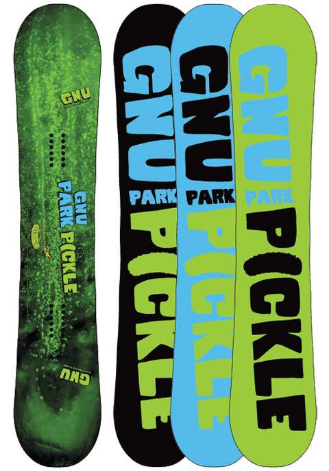 """These are park boards. They are symmetrical so that you can land """"fakie"""" or with your non-dominant foot forward. When you buy a park board you generally have it a little bit shorter than an all-mountain."""