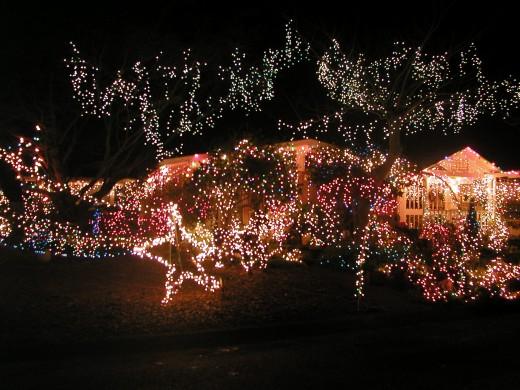 Christmas lights the neighbors miss