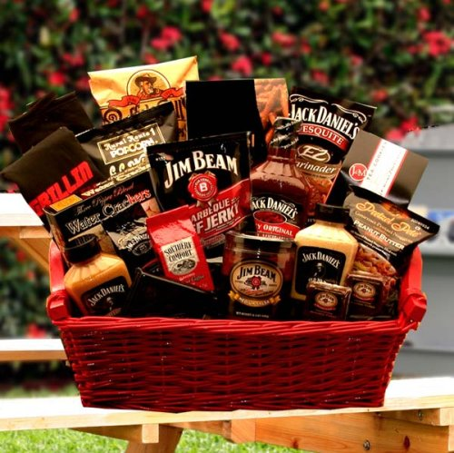 A hot sauce gift basket makes a great Father's Day gift!