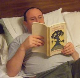 Me Reading Bukowski