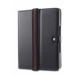 Acase Leather Flip Book Jacket Folio iPad Case and Stand