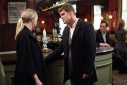 Jack goes to apoligize to Michael but when Ronnie catches them both with the baby she is livid