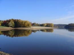 Videix lake in the autumn,  Limousin