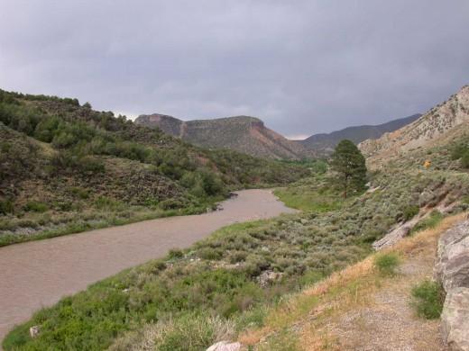 Near Sante Fe NM