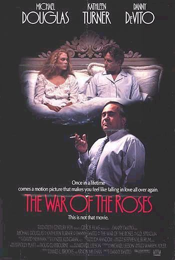 The War of the Roses movie poster