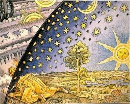 A classic image long associated with the science of  alchemy and the discovery of higher realities