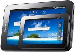 Galaxy Tab 2 behind Galaxy Tab