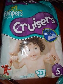 PAMPERS STAGES CRUISERS NAPPIES PHOTOS AND REVIEW