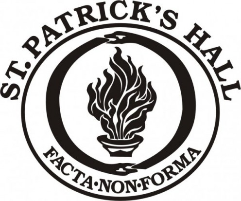 Emblem of St. Patrick's Hall