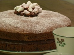 Angie Jardine's best all-in-one chocolate cake recipe.