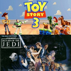 Toy Story 3 vs. The Return of the Jedi:  A Comparison of Two Films