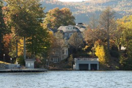 Gorgeous Lakeside setting for Greystone Inn.