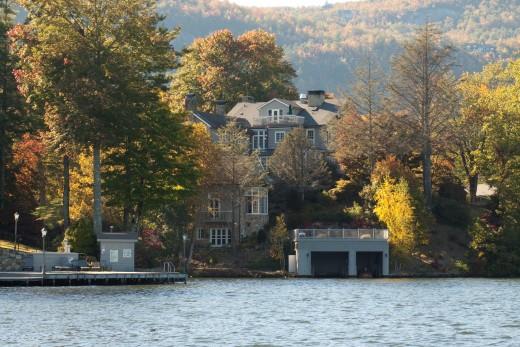 Gorgeous Lakeside setting for Greystone Inn.