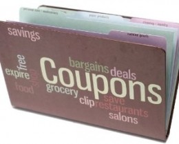 Safely ensconce your coupons here.