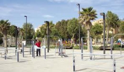 Or, the ultimate outdoor workout station?
