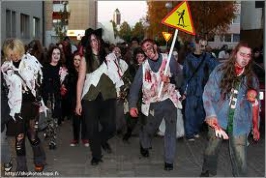 As time passes, streets will become busier as zombie virus spreads. Act Fast!