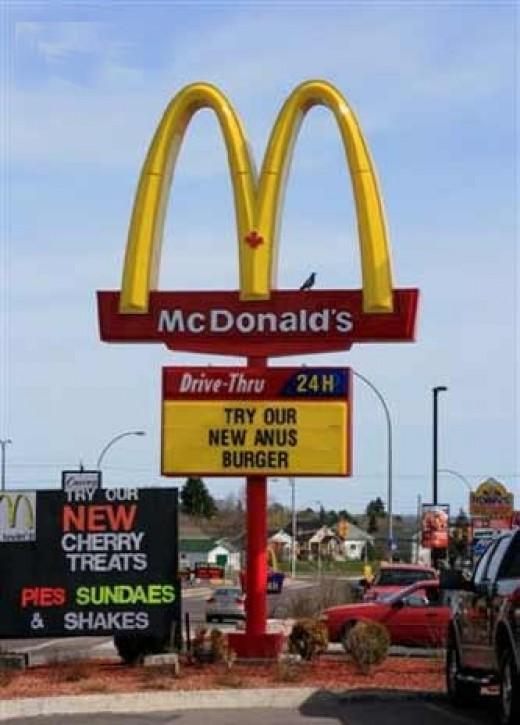 Anus Burger??????