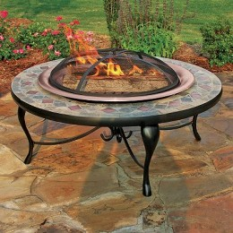 Patio fire pits turn your patio into a gathering place.