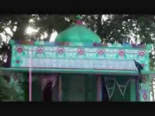 Ramapir Mandar, (On the first look, it appears to be shrine of a Muslim Saint but is a Hindu Temple because of religious hormoney).