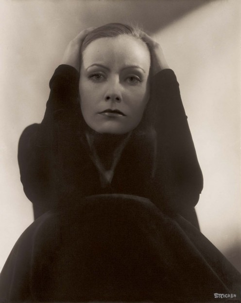 Steichen's 1928 portrait of Greta Garbo is considered on of the definitive portraits of her