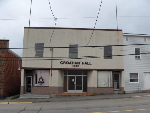Croatian Hall, in Schumacher, Timmins
