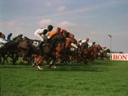 The Grand National was first run in 1839 and featured a solid brick wall as one of the obstacles,